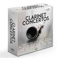 Klarinettenkonzerte, 14 CDs