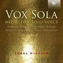 Lorna Windsor - Vox Sola, CD