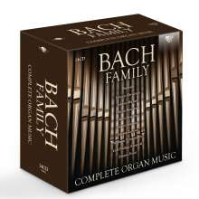 Bach Family - Die Orgelwerke der Bach-Familie, 24 CDs