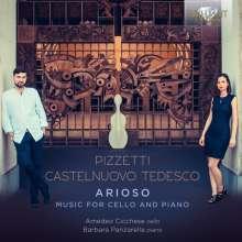 Ildebrando Pizzetti (1880-1968): Sonate für Cello & Klavier F-Dur, CD