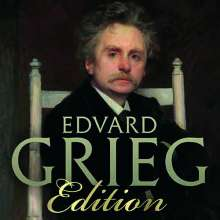 Edvard Grieg (1843-1907): Edvard Grieg Edition (Brilliant 2019), 25 CDs
