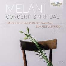 Alessandro Melani (1639-1703): Concerti Spirituali op.3 Nr.1-18, 2 CDs