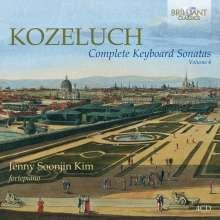 Leopold Kozeluch (1747-1818): Sämtliche Sonaten für Tasteninstrumente Vol.4, 4 CDs