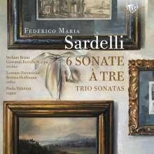 Federico Maria Sardelli (geb. 1963): Triosonaten Nr.1-6, CD