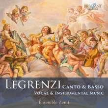 Giovanni Legrenzi (1626-1690): Vokal- und Instrumentalwerke, CD