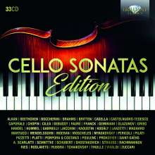 Cello Sonatas Edition, 33 CDs