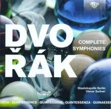 Antonin Dvorak (1841-1904): Symphonien Nr.1-9, 5 CDs