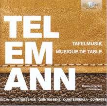 Georg Philipp Telemann (1681-1767): Tafelmusik (Gesamtaufnahme), 5 CDs