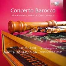 "Barockkonzerte für Blockflötenquintett & Cembalo/Orgel ""Concerto Barocco"", CD"