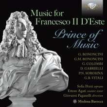 Music for Francesco Il d'Este - Prince of Music, CD