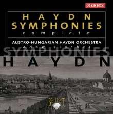Joseph Haydn (1732-1809): Symphonien Nr.1-104, 33 CDs