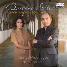 Denys Proshayev & Nadia Mokhtari - Baroque Suites, CD