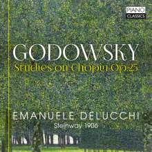 Leopold Godowsky (1870-1938): Studien über die Etüden von Chopin Nr.23-36,38-46,48, CD