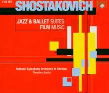 Dmitri Schostakowitsch (1906-1975): Jazz-Suiten Nr.1 & 2, 3 CDs