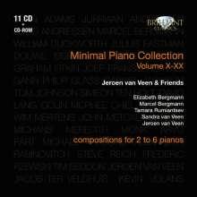 Jeroen van Veen & Friends - Minimal Piano Collection X-XX, 11 CDs