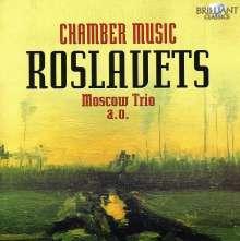 Nikolaj Roslavets (1881-1944): Kammermusik, CD
