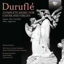 Maurice Durufle (1902-1986): Sämtliche Werke für Chor & Orgel, 2 CDs