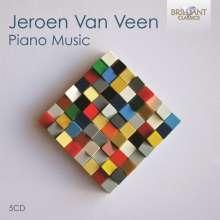 Jeroen van Veen (geb. 1969): Piano Music, 5 CDs