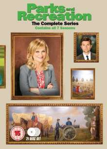 Parks And Recreation Seasons 1-7: The Complete Collection (UK Import), 21 DVDs