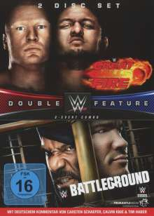 WWE: Great Balls of Fire / Battleground 2017, 2 DVDs