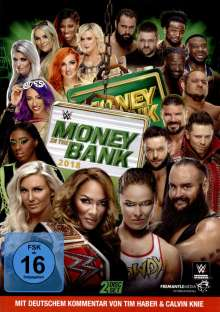 WWE - Money in the Bank 2018, 2 DVDs