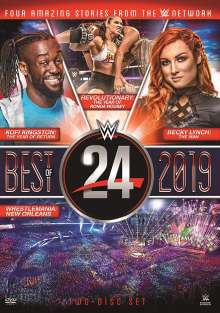 WWE: 24 - The Best Of 2019, 2 DVDs