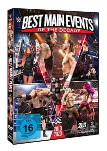 WWE: Best Main Events Of The Decade 2010-2020, 2 DVDs
