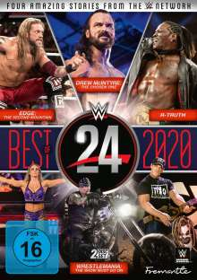 WWE 24 - The Best of 2020, 2 DVDs