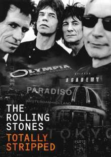 The Rolling Stones: Totally Stripped, DVD