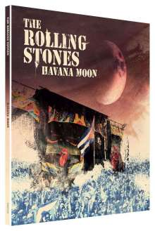 The Rolling Stones: Havana Moon (Limited Deluxe Edition), 1 DVD, 1 Blu-ray Disc und 2 CDs