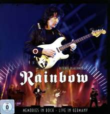 Ritchie Blackmore: Memories In Rock: Live In Germany 2016 (Deluxe-Earbook), 2 CDs, 1 DVD und 1 Blu-ray Disc