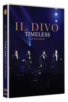 Il Divo: Timeless: Live In Japan, DVD