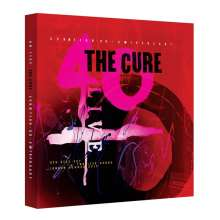 The Cure: 40 Live - Curætion 25 - Anniversary (Limited DVD/CD Boxset), 2 DVDs und 4 CDs