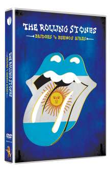 The Rolling Stones: Bridges To Buenos Aires, DVD