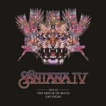 Santana: Live At The House Of Blues, Las Vegas (180g), 3 LPs und 1 DVD