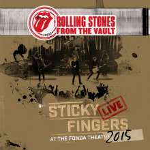The Rolling Stones: From The Vault: Sticky Fingers – Live At The Fonda Theatre 2015 (180g), 3 LPs und 1 DVD