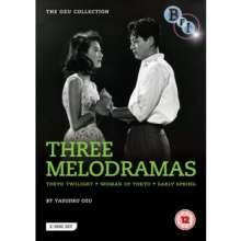 The Ozu Collection - Three Melodramas (1933-1957) (UK Import), 2 DVDs
