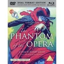 The Phantom Of The Opera (1925) (Blu-ray & DVD) (UK Import), 1 Blu-ray Disc und 1 DVD