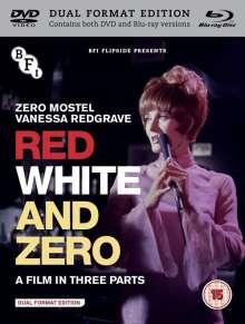 Red, White And Zero (1967) (Blu-ray & DVD) (UK Import), 1 Blu-ray Disc und 1 DVD