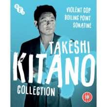Takeshi Kitano Collection (1989-1993) (Blu-ray) (UK Import), 3 Blu-ray Discs