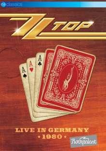ZZ Top: Live In Germany 1980, DVD