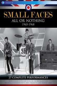 Small Faces: All Or Nothing 1965 - 1968, DVD