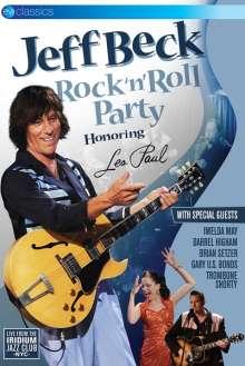 Jeff Beck: Rock'n'Roll Party: Honouring Les Paul - Live (EV Classics), DVD