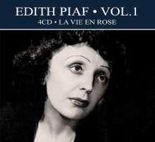 Edith Piaf (1915-1963): Vol.1: La Vie En Rose, 4 CDs