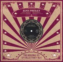 """Elvis Presley (1935-1977): US EP Collection Vol.4 (remastered) (Limited-Edition) (White Vinyl), Single 10"""""""