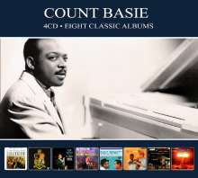 Count Basie (1904-1984): Eight Classic Albums, 4 CDs