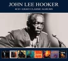 John Lee Hooker: Eight Classic Albums, 4 CDs