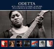 Odetta: Seven Classic Albums, 4 CDs