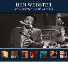 Ben Webster (1909-1973): Seven Classic Albums, 4 CDs