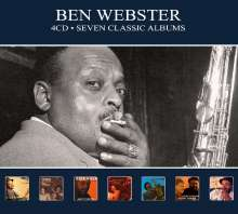 Ben Webster (1909-1973): Seven Classic Albums, 4 CDs